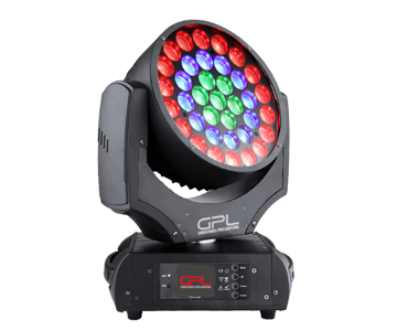 LED 37x12w RGBW Zoom Moving head light